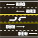Center Lane Road Markings